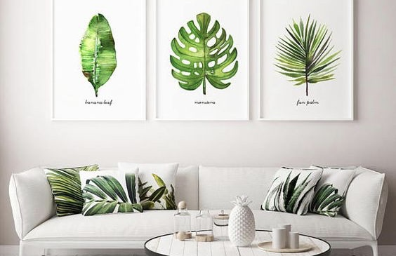 Feng Shui Art Green